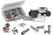 axi018 - Axial Wraith Spawn 4wd Stainless Screw Kit