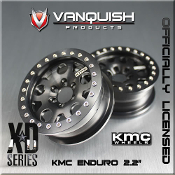 KMC Enduro 2.2 Wheels Black