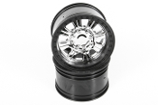3.8 Raceline Monster Wheels (Chrome/Black) (2pcs)