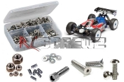 Associated RC8 B3e Buggy 1/8th Stainless Screw Kit
