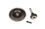 Axial Heavy Duty Bevel Gear Set - 36T/14T
