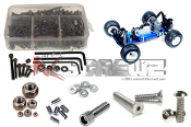ass003 - Associated RC10GT RTR/Factory Stainless Steel Screw Kit