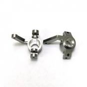 STRC MACHINED ALUM. FRONT STEERING KNUCKLES FOR YETI EXO BUGGY
