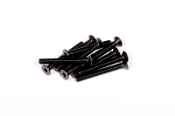 Axial M3x25mm Hex Socket Flat Head (Black) (10pcs)