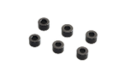 Axial 4x6mm Spacer - Grey (6pcs)