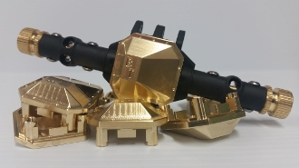 Beef Tubes SCX10 II Differential Cover - Brass