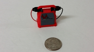 Mad Mikes 1/10 Scale Battery Jump Pack (Red)