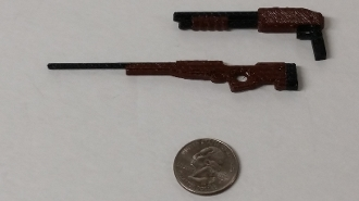Mads Mikes 1/10 Scale Sawed Off Shotgun & Rifle Combo Kit