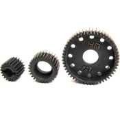 Hot Racing Hardened Steel Trans Gear Set for Axial AX10, SCX10