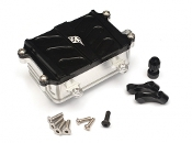 Boom Racing Aluminum Receiver Box - 1 Pc Black