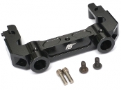 Boom Racing SCX10 II Aluminum Rear Bumper Mount Black