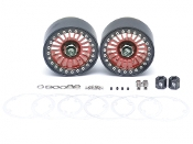 Boom Racing Venomous KRAIT™ 2.2 Aluminum Beadlock Wheels Red