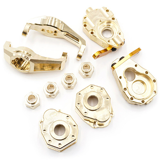 Yeah Racing Brass Upgrade Parts Set For Traxxas TRX-4