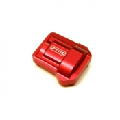 STRC MACHINED ALUMINUM HD DIFF COVER FOR TRAXXAS TRX-4 (RED)