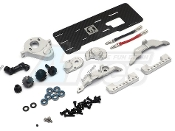 GRC Traxxas TRX4 Front Motor Conversion Kit w/ Aluminum Gearbox