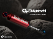 GMADE G-Transition shock red 90mm (4) for 1/10 RC Crawlers