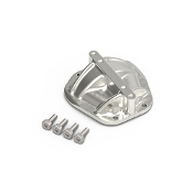 JunFac 3D Machined Differential Cover, GA44 Axle, Silver