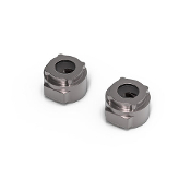 JunFac GS02 BOM Aluminum Rear Lockout, for GA44 Axle, Grey