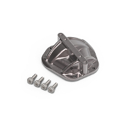 JunFac GS02 BOM GA44 Axle 3D Machined Differential Cover Gray