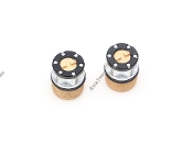 Boom Racing Scale 4WD Center Locking Hub Cover (2) Gold