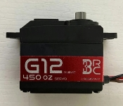 3 Brothers RC G12 Servo w/Black Horn