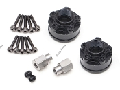 Boom Racing XT508 5-Lug Aluminum Wheel Hub Adapters 8mm (2)
