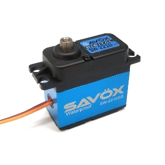 Savox Waterproof, High Voltage, Brushless, 500oz Digital Servo